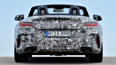 New 2019 BMW Z4 – rear