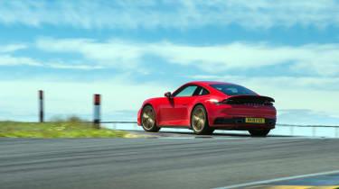 Porsche 911 Carrera S track