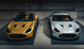 Aston Martin V12 Vantage Zagato R-Reforged front high
