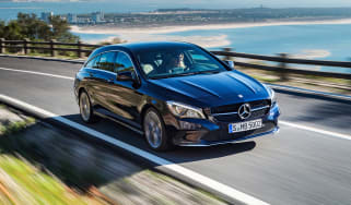 Mercedes-Benz CLA200 Shooting Brake - front
