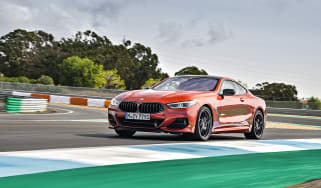 BMW M850i coupe review - front quarter