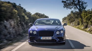 Bentley Continental Supersports - front