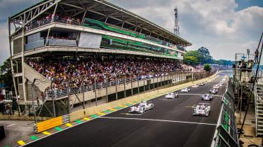 Race start - FIA WEC Brazil