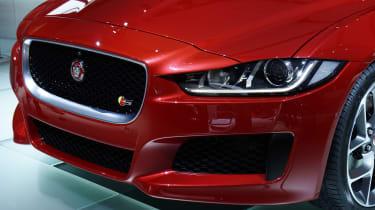 Jaguar XE front end