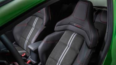 2022 Ford Fiesta ST –seats