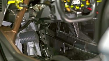 Audi R8 LMS GT2 interior