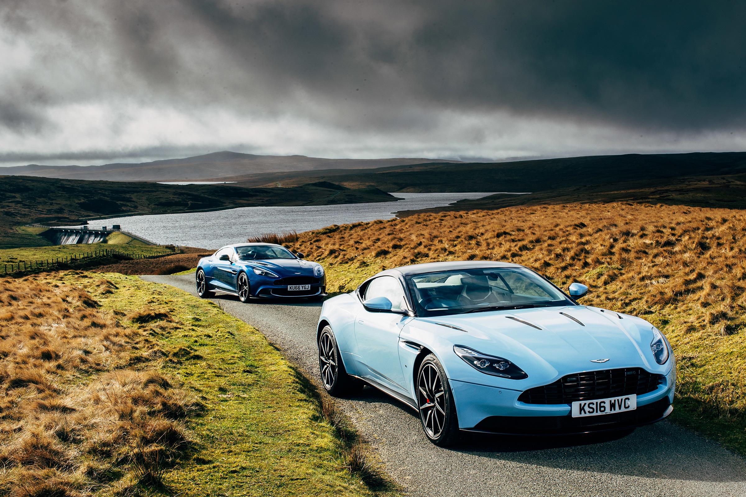 Aston Martin Db11 Vs Aston Martin Vanquish S Review Battle Of The V12s Evo