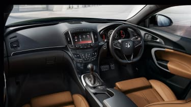 New 2013 Vauxhall Insignia interior dashboard