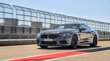 BMW M8 Competition prototype - quarter