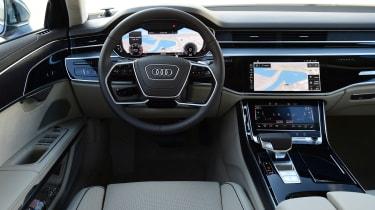 Audi A8 - driver area