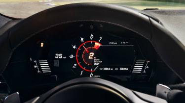 Toyota Supra - dash