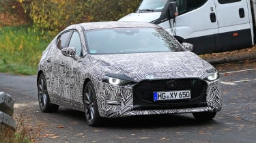 2019 Mazda 3 spied - front
