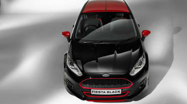 Ford Fiesta Zetec S Red and Black Editions