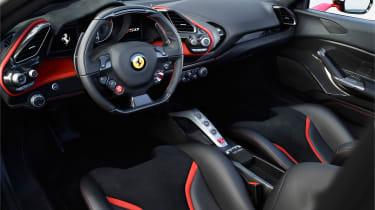 Ferrari J50 dash