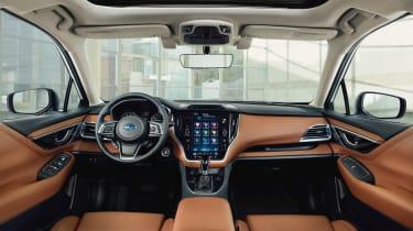 Subaru Legacy - dash