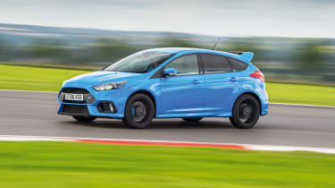 Ford Focus RS - on track