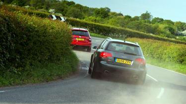 Skoda Octavia vRS 245 Estate and Audi RS4 Avant (B7)