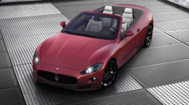 Maserati GranCabrio Sport news and pictures