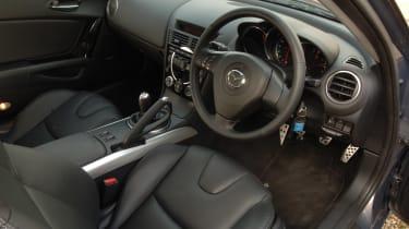 Mazda RX-8 cabin