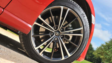 Toyota GT86 alloy wheel