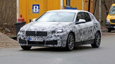 BMW 1-series 2019 - front