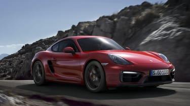 Porsche Cayman GTS red