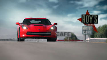 Chevrolet C7 Corvette Stingray - driving 2