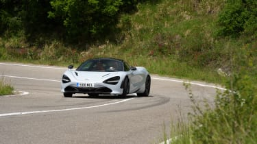 McLaren 720S – cornering