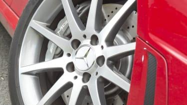 Mercedes SLK55 AMG alloy wheel