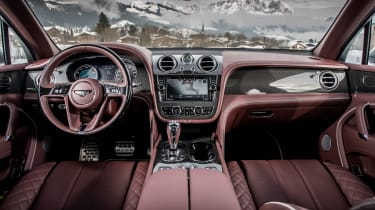 Bentley Bentayga V8 – interior