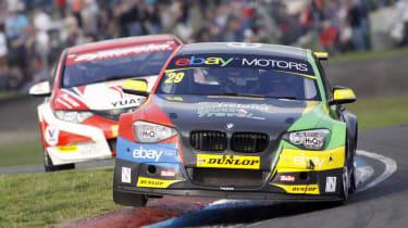 British Touring Cars Knockhill Colin Turkington BMW 125i M Sport