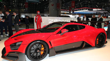 Zenvo TSR-S – side