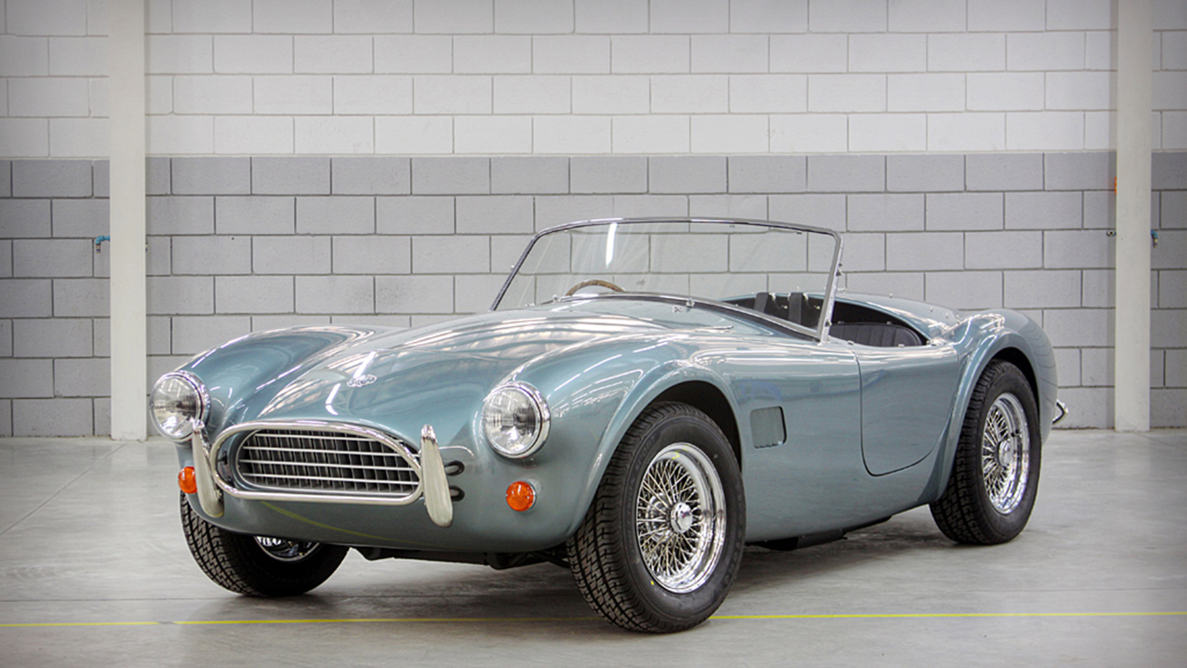 AC Cobra 289s recharged with electric conversion