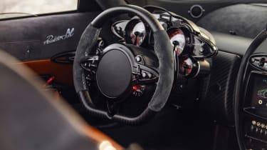 Pagani Huayra BC Roadster wheel