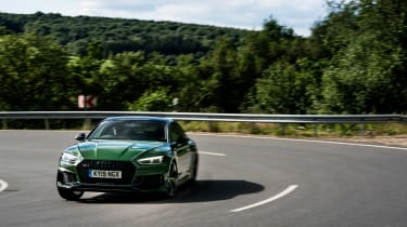 Audi RS5 Sportback review - front