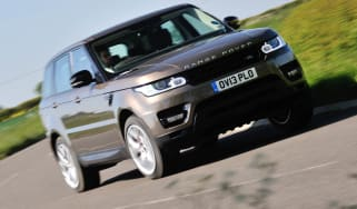 2013 Range Rover Sport Supercharged front