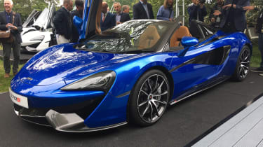 Goodwood Festival of Speed - McLaren 570S Spider