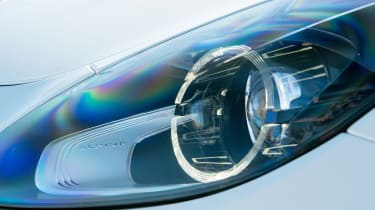 Alpine A110 Pure - headlights