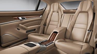 New Porsche Panamera Exclusive long wheelbase rear seats