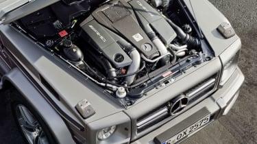Mercedes-Benz G63 AMG engine