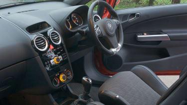 Vauxhall Corsa VXR 888 interior