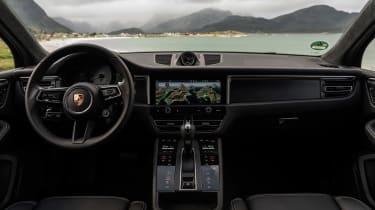 Porsche Macan GTS 2021 – dash