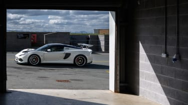 Road-legal supercars – Lotus Exige Cup 430 side
