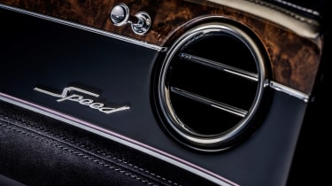 Bentley Continental GT Convertible Speed – vent