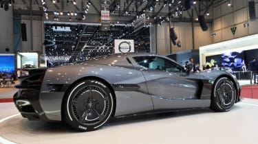 Rimac C_Two - rear show