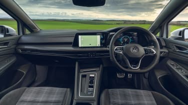 Volkswagen Golf GTD 2021 review - interior