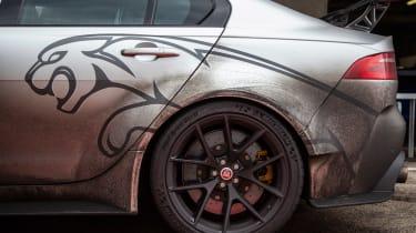 Jaguar XE SV Project 8 - rear wheels
