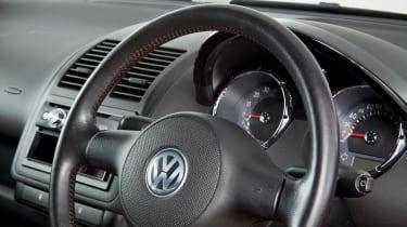 Volkswagen Lupo GTI – steering wheel