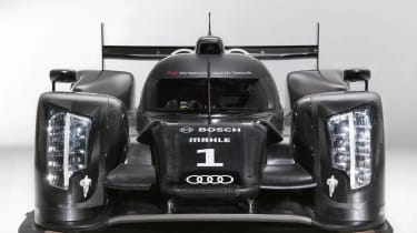 Audi reveals R18 TDI Le Mans 24 hour racing car