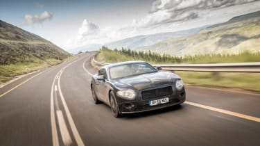 Bentley Continental GT - pre production  SA front